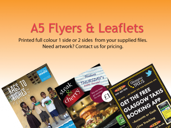 Commercial printers glasgow brochures and flyers glasgow reheart Image collections