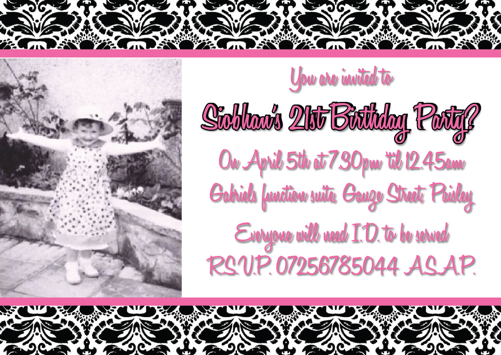 Invitation Printing Glasgow   Wedding Invitation Glasgow